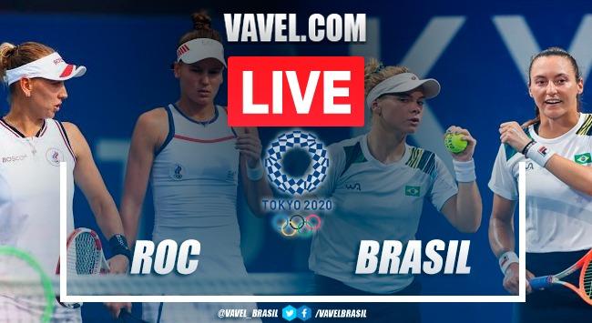 Kudermetova/Vesnina x Pigossi/Stefani na disputa pelo bronze nas Olimpíadas 2020 (1-2)