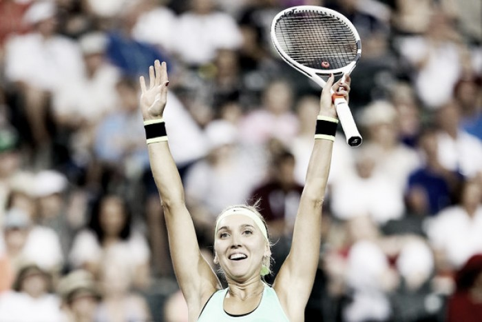 WTA Indian Wells: Elena Vesnina produces huge shock as she outhits Venus Williams in three sets