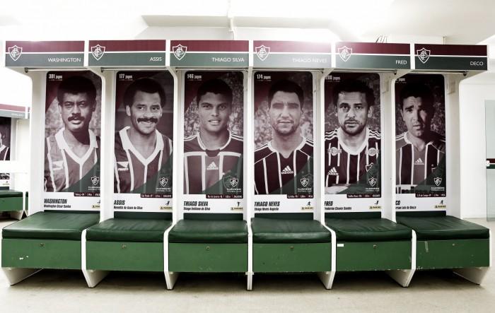 De Castilho a Fred: vestiário do Fluminense nas Laranjeiras ganha novo visual com fotos de ídolos