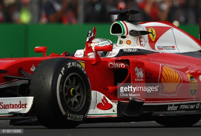 Mexican GP 2016: Vettel demoted to fifth