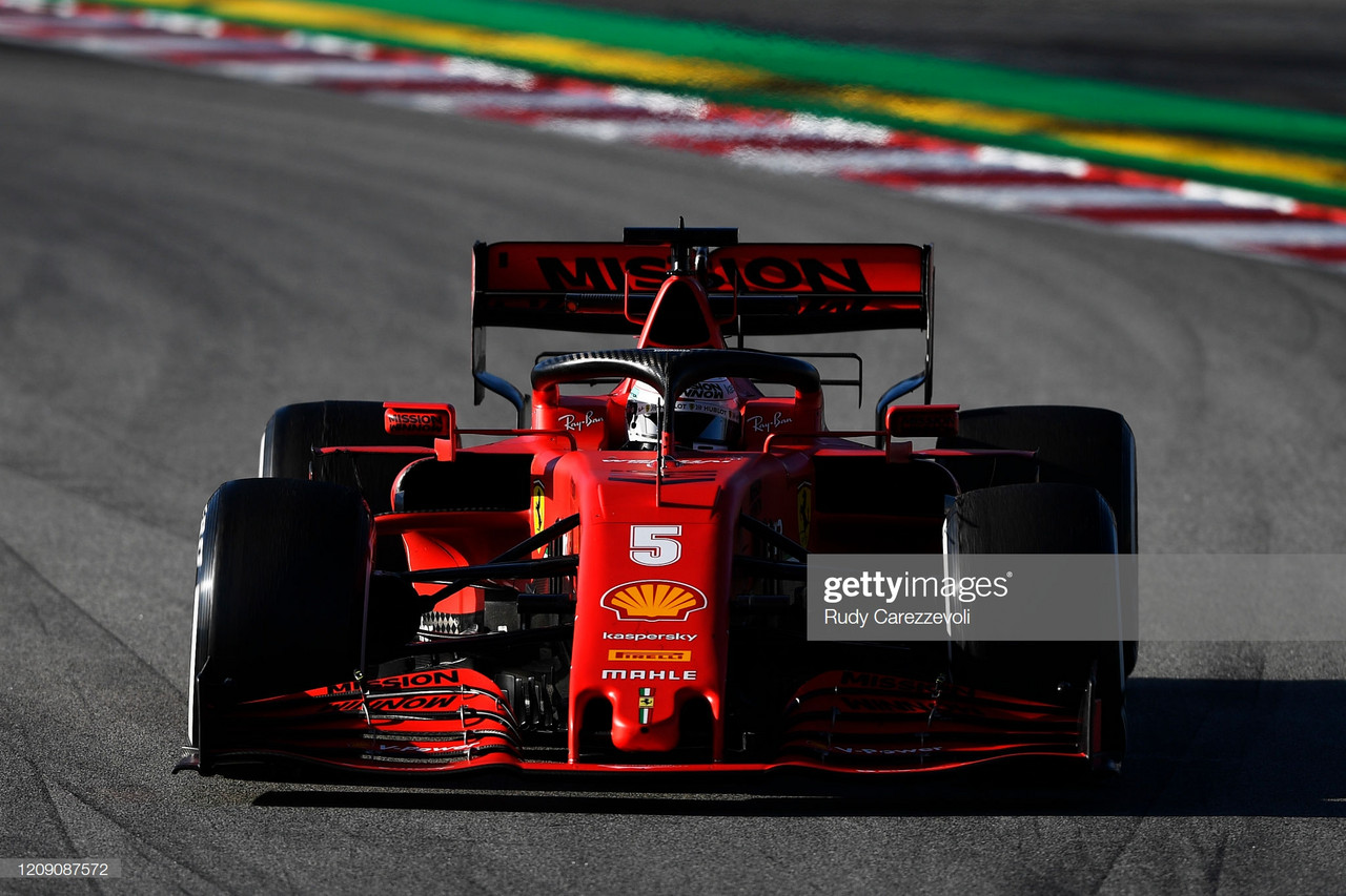 Vettel fastest on penultimate day of testing