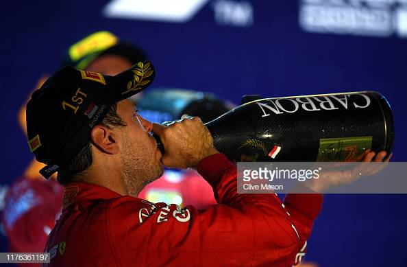Vettel ends winning drought with victory in Singapore