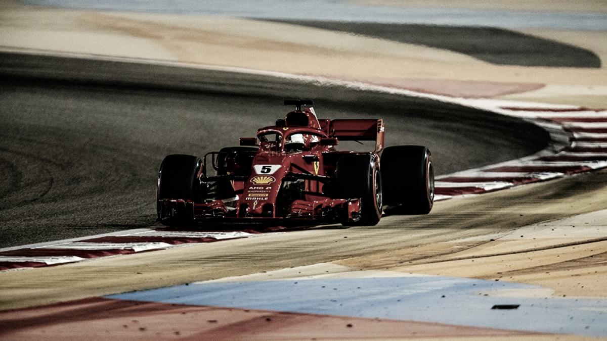 Sebastian Vettel sonríe de nuevo