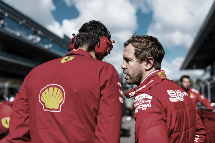 Otimista, Vettel diz que ritmo da Ferrari na Rússia 'vai dar dor de cabeça' àMercedes
