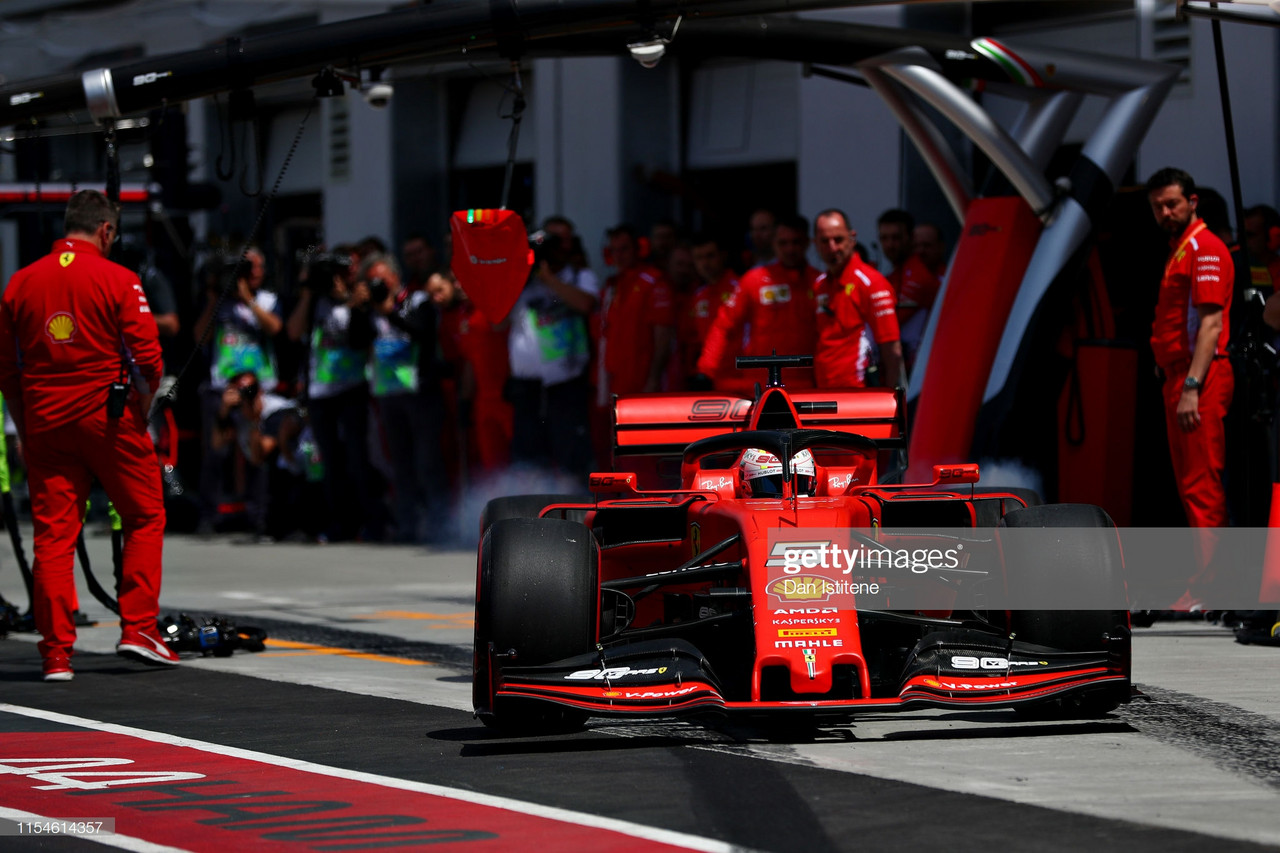 Ferrari dominate in Montreal as Vettel tops FP3