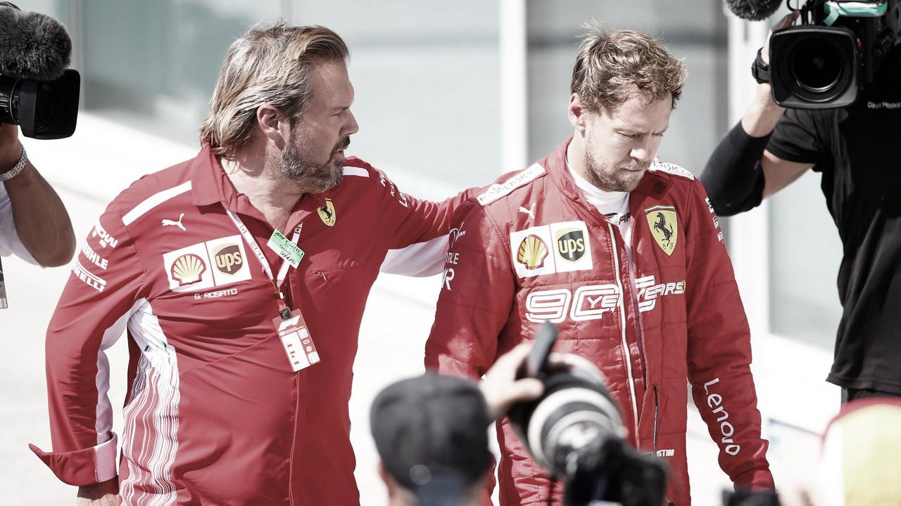 """Insatisfeito, Vettel tem futuro incerto na F1: """"Este não é o esporte pelo qual me apaixonei"""""""