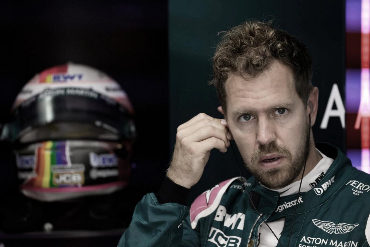 """Vettel critica FIA após acidente de Norris: """"Não deveriam ter dado bandeira verde"""""""