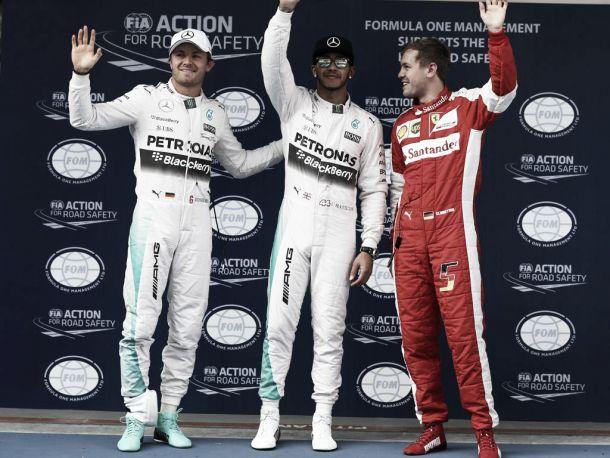 Pole Position para Hamilton em Shanghai