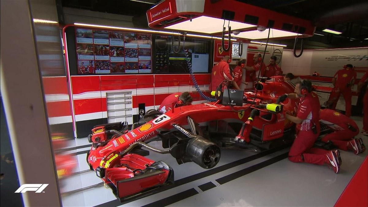 Formula 1 Gp di Italia: doppietta Ferrari nelle seconde libere asciutte