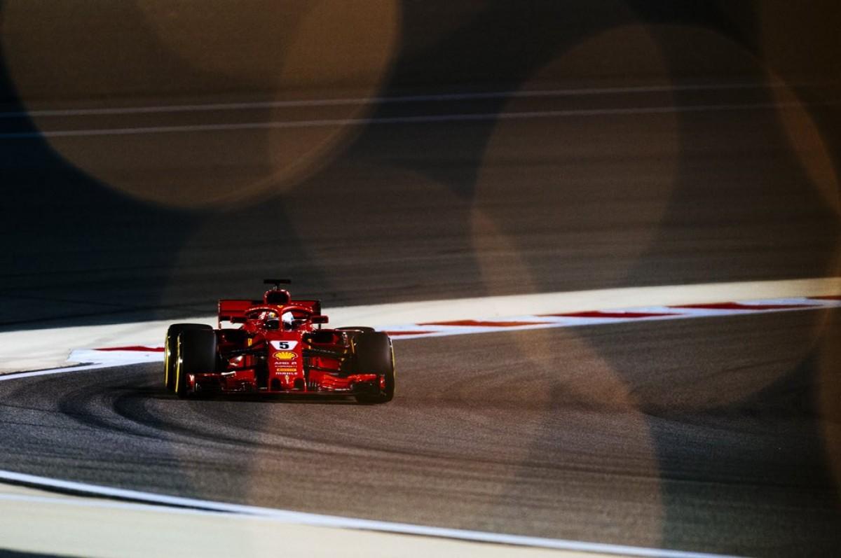 """F1, Gp del Bahrain - Vettel celebra la vittoria: """"Gara incredibile!"""""""