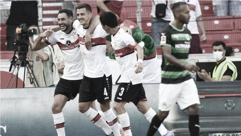 Stuttgart estreia na Bundesliga com goleada sobre o Greuther Fürth