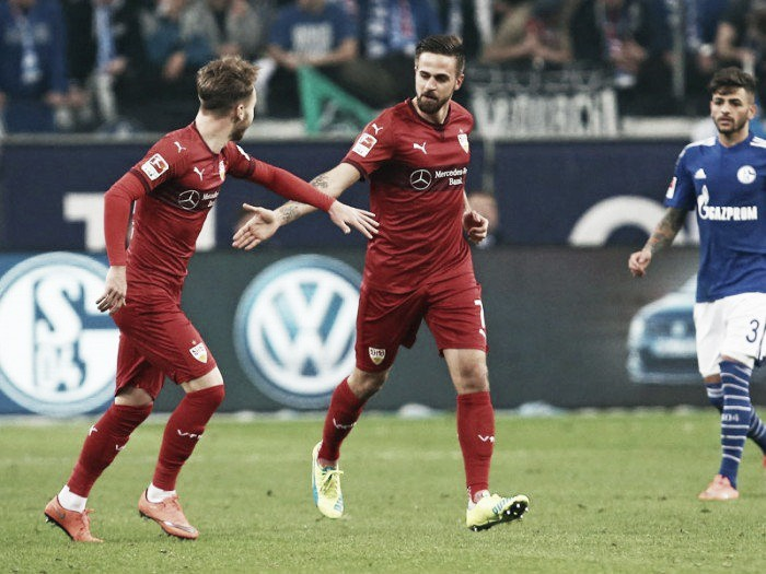 Schalke 04 1-1 VfB Stuttgart: The Swabians strike back to earn a deserved draw