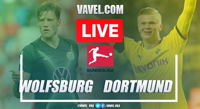 Goals and Highlights: Wolfsburg 0-2 Borussia Dortmund in 2020 Bundesliga