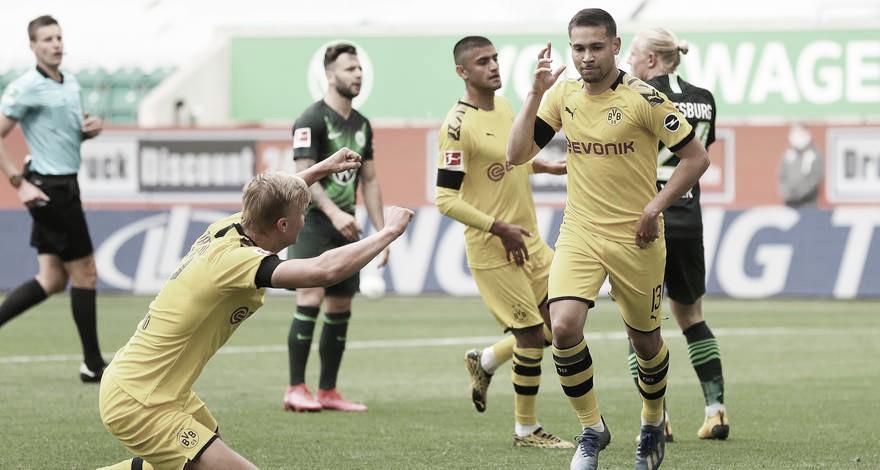 Após nova vitória do Dortmund, Lucien Favre elogia importância de seus alas