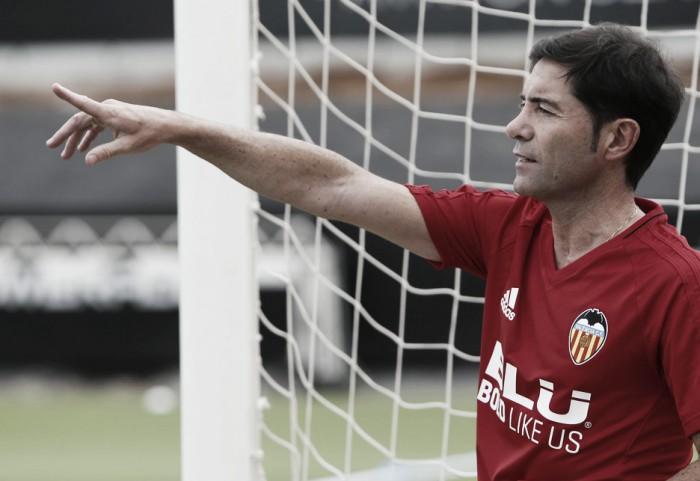 """Marcelino: """"Hay gestiones avanzadas, vamos a pelear por los jugadores que queremos"""""""