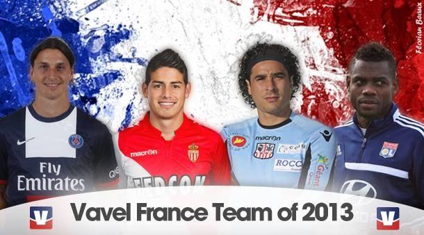 L'équipe-type Ligue 1 2013 : les résultats