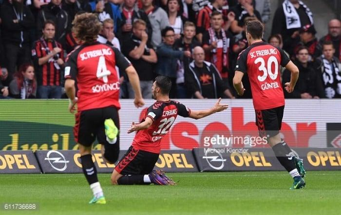 SC Freiburg 1-0 Eintracht Frankfurt: Grifo goal gives Freiburg another home win