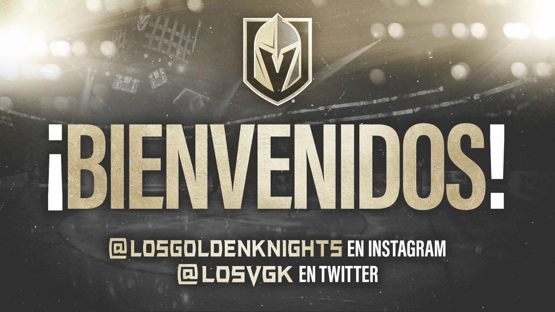 Las Vegas Golden Knights lanzan sus perfiles de redes sociales en español