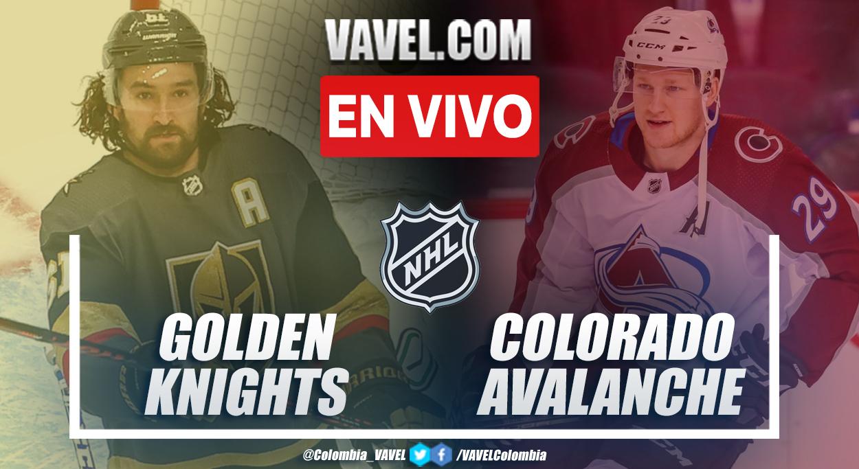 Resumen y goles: Golden Knights 6-3 Colorado Avalanche en juego 6 por playoffs de la NHL 2021