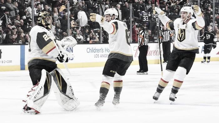 Vegas Golden Knights: Goaltending, milestones, and momentum give them an edge