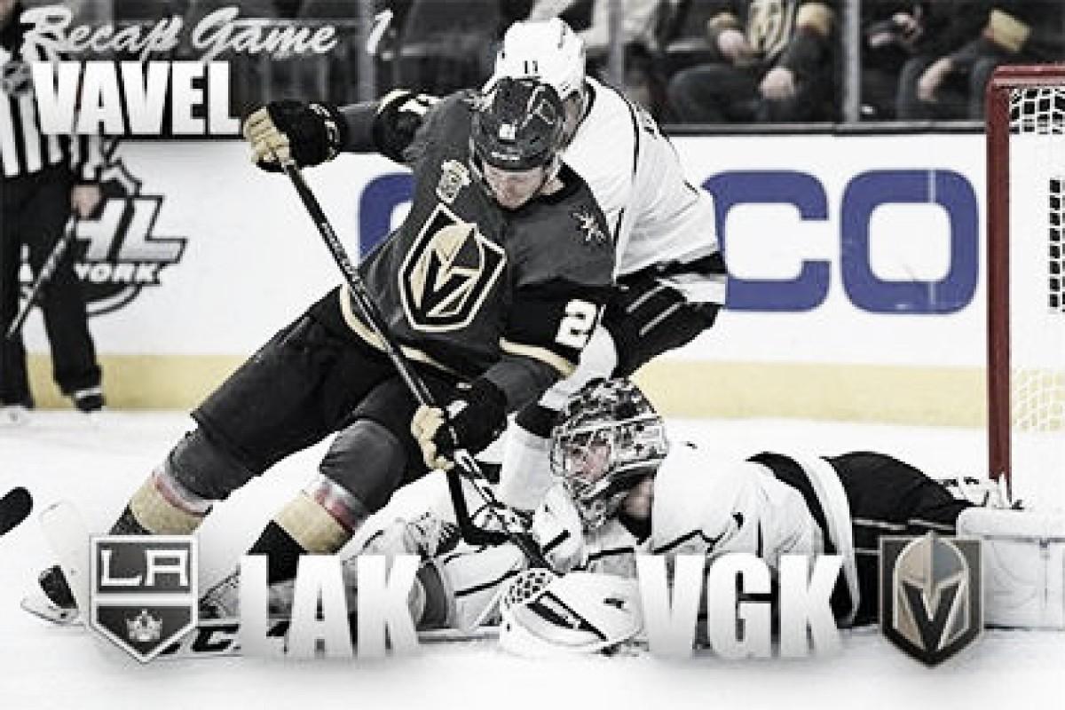 Vegas Golden Knights Squeak by LA Kings to take Game 1