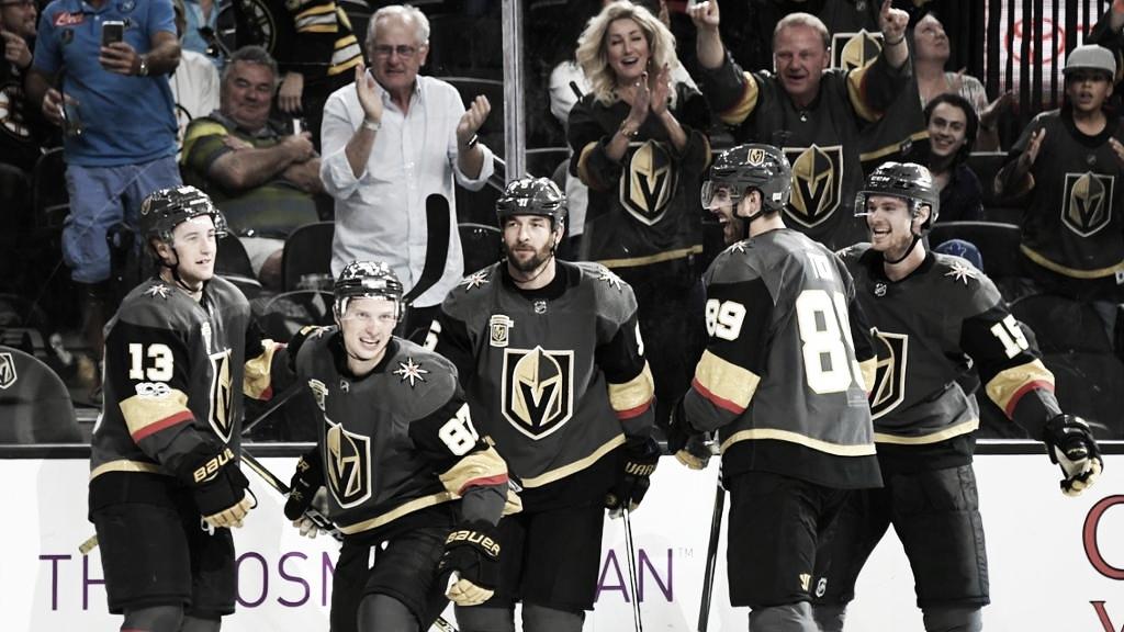 Los Blues y los Golden Knights Clasificados para los playoffs