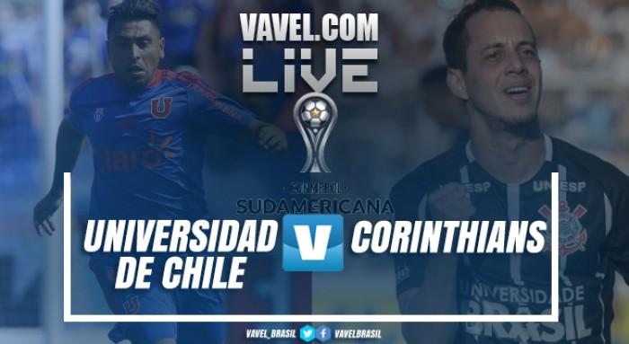Resultado Universidad de Chile x Corinthians na Sul-Americana 2017 (1-2)