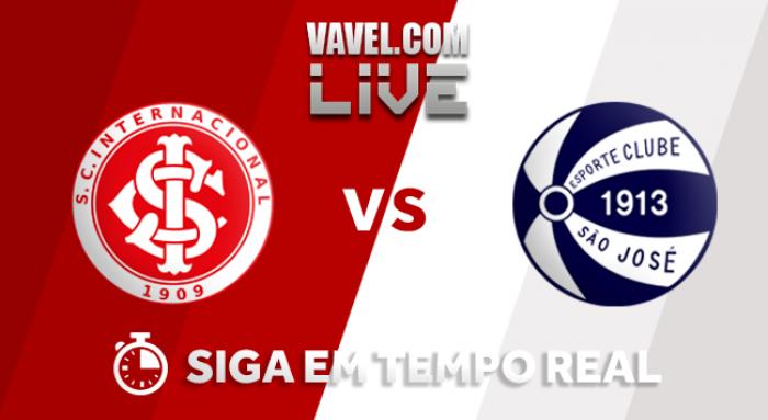 Resultado Internacional x São José pelo Campeonato Gaúcho 2018 (4-0)