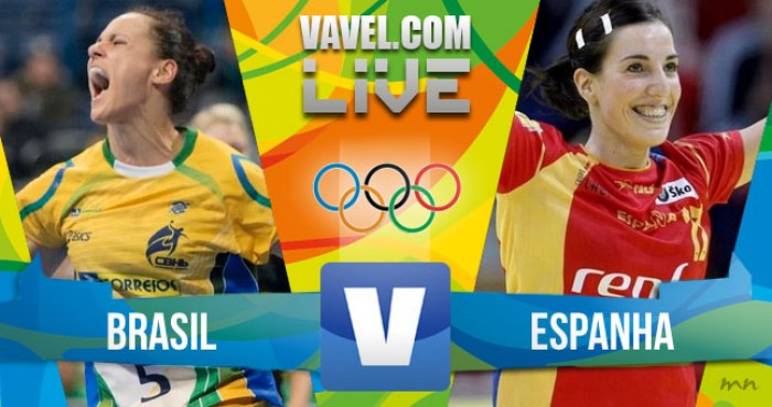 Brasil x Espanha hoje no handebol feminino dos Jogos Olímpicos (24-29)