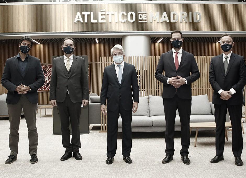 TD Systems patrocinará al Atlético hasta 2022