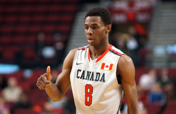 Andrew Wiggins Announces He Will Play For Canada This Summer
