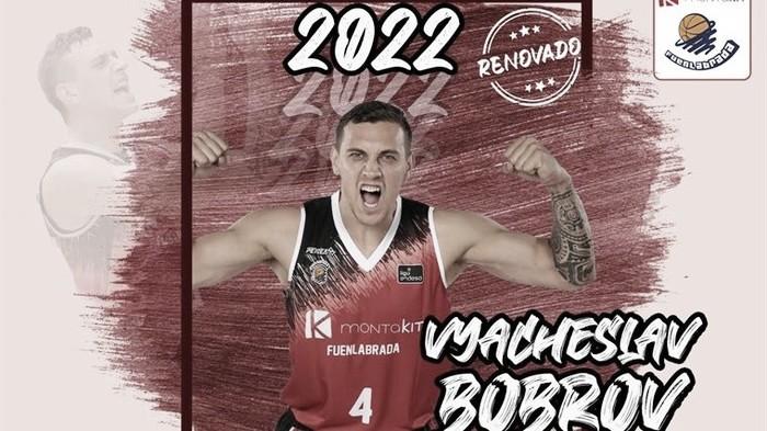 Montakit Fuenlabrada anuncia la renovación de Vyacheslav Bobrov