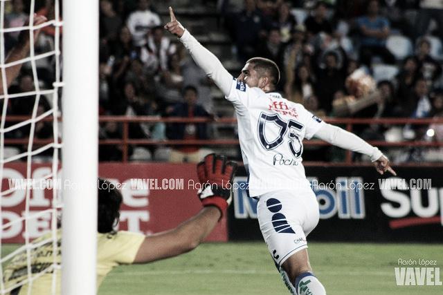 Víctor Guzmán y su gran momento con los tuzos