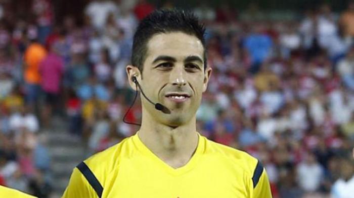 Vicandi Garrido arbitrará al Levante en La Rosaleda