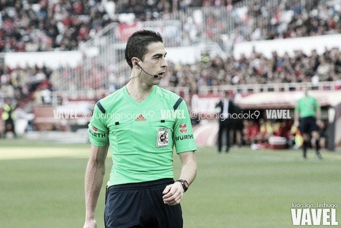 Vicandi Garrido pitará el Málaga - Deportivo
