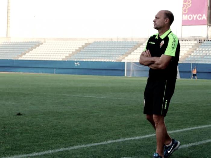 Vicente Mir, destituido como entrenador del Elche CF