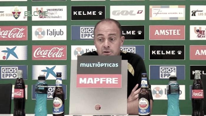"""Vicente Mir: """"Ha faltado actitud y trabajo, pero vamos segundos"""""""