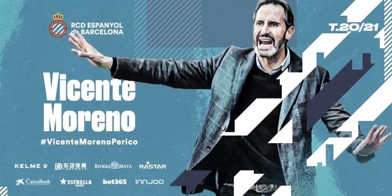 El Espanyol ya conoce a su nuevo técnico: Vicente Moreno