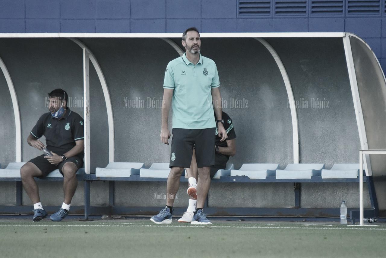 """Vicente Moreno: """"El partido contra el Mallorca tiene la misma importancia que ayer"""""""