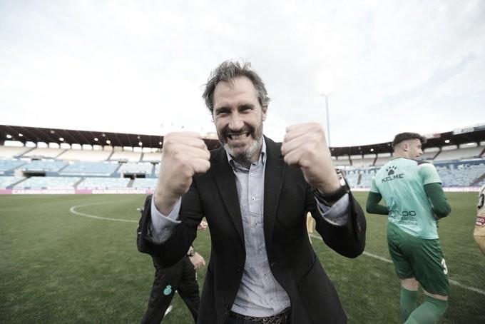"""Vicente Moreno: """"Todo el mundo ha empujado al Espanyol a Primera"""""""