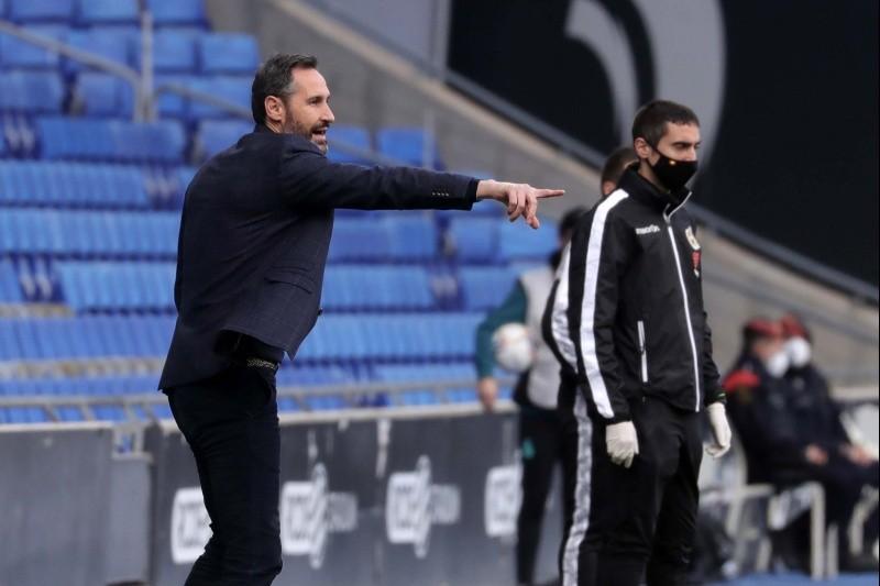 """Vicente Moreno: """"Se nos ha ido el partido"""""""