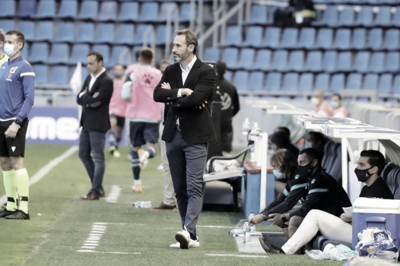 Vicente en el partido. Fotografía: RCD Espanyol S.A