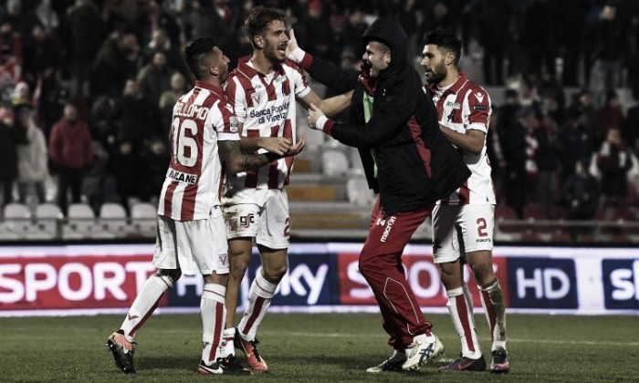 Video gol highlights Vicenza-Novara 3-1: vittoria fondamentale per i veneti