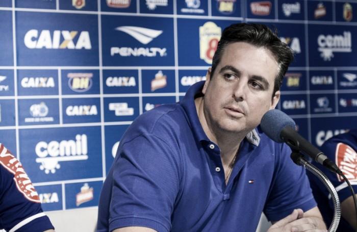 Fora da vice-presidência de futebol do Cruzeiro, Bruno Vicintin emite carta de despedida