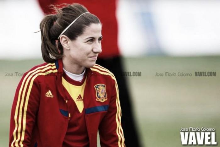 Vicky Losada, 50 partidos con el combinado nacional