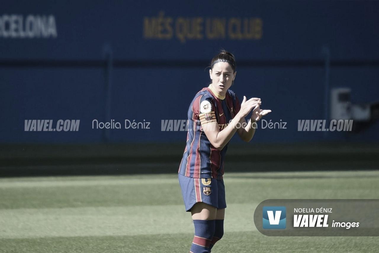 Vicky Losada llega a los 350 partidos con el Barça Femení