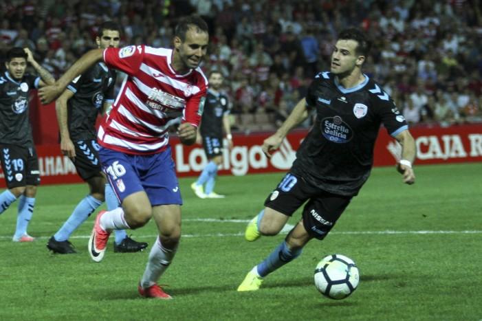 Granada CF - CD Lugo: puntuaciones del Granada, jornada 8 de La Liga 1|2|3