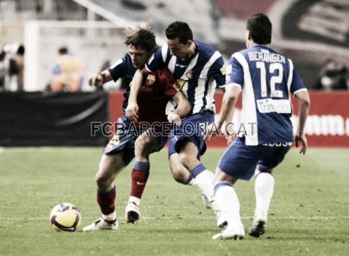 Víctor Sánchez, un futbolista con pasado culé y presente perico