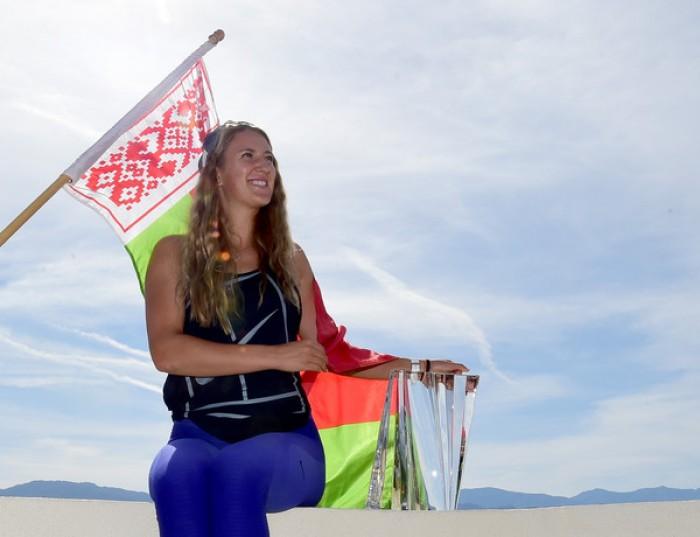 WTA - Indian Wells, il sorriso di Victoria Azarenka
