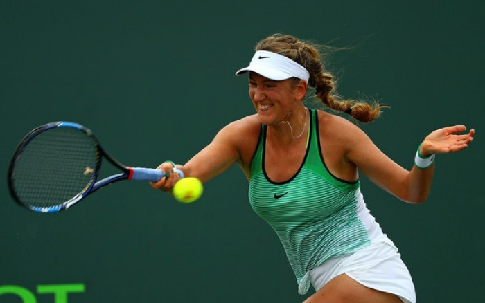 WTA - Miami: Bacsinszky batte Radwanska, Azarenka si impone su Muguruza
